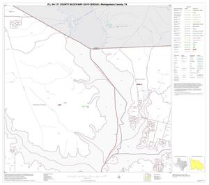 Primary view of object titled 'P.L. 94-171 County Block Map (2010 Census): Montgomery County, Block 7'.