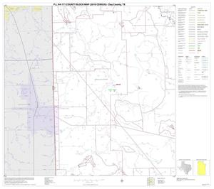 Primary view of object titled 'P.L. 94-171 County Block Map (2010 Census): Clay County, Block 20'.