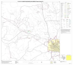 Primary view of object titled 'P.L. 94-171 County Block Map (2010 Census): Mason County, Block 6'.