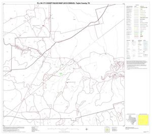 Primary view of object titled 'P.L. 94-171 County Block Map (2010 Census): Taylor County, Block 10'.