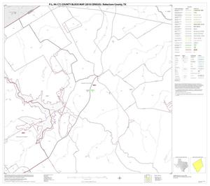 Primary view of object titled 'P.L. 94-171 County Block Map (2010 Census): Robertson County, Block 5'.