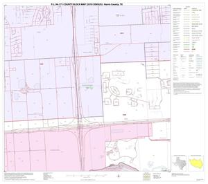Primary view of object titled 'P.L. 94-171 County Block Map (2010 Census): Harris County, Block 265'.
