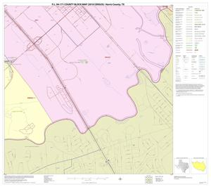 Primary view of object titled 'P.L. 94-171 County Block Map (2010 Census): Harris County, Block 286'.