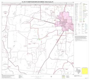 Primary view of object titled 'P.L. 94-171 County Block Map (2010 Census): Parker County, Block 3'.
