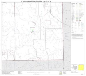 Primary view of object titled 'P.L. 94-171 County Block Map (2010 Census): Archer County, Block 16'.