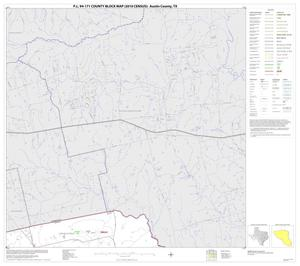 Primary view of object titled 'P.L. 94-171 County Block Map (2010 Census): Austin County, Block 2'.