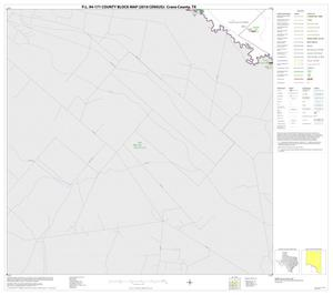 Primary view of object titled 'P.L. 94-171 County Block Map (2010 Census): Crane County, Block 10'.