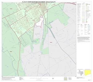 Primary view of object titled 'P.L. 94-171 County Block Map (2010 Census): Johnson County, Inset H02'.