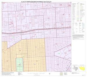 Primary view of object titled 'P.L. 94-171 County Block Map (2010 Census): Harris County, Block 217'.