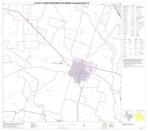 Primary view of object titled 'P.L. 94-171 County Block Map (2010 Census): Comanche County, Block 5'.