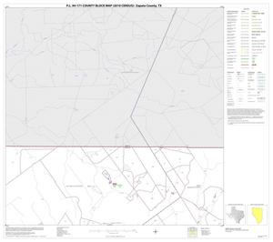 Primary view of object titled 'P.L. 94-171 County Block Map (2010 Census): Zapata County, Block 3'.