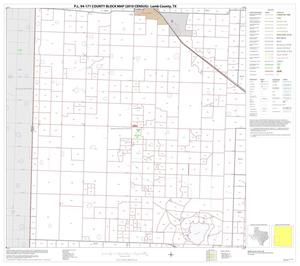 Primary view of object titled 'P.L. 94-171 County Block Map (2010 Census): Lamb County, Block 7'.