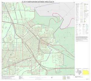 Primary view of object titled 'P.L. 94-171 County Block Map (2010 Census): Wichita County, Inset E04'.