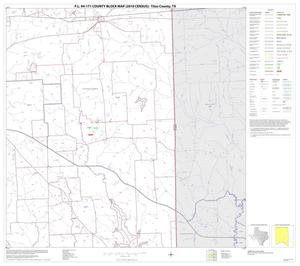 Primary view of object titled 'P.L. 94-171 County Block Map (2010 Census): Titus County, Block 9'.