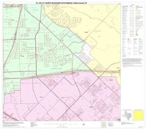 Primary view of object titled 'P.L. 94-171 County Block Map (2010 Census): Dallas County, Block 53'.