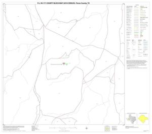 Primary view of object titled 'P.L. 94-171 County Block Map (2010 Census): Pecos County, Block 61'.