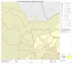 Primary view of object titled 'P.L. 94-171 County Block Map (2010 Census): McLennan County, Inset D02'.