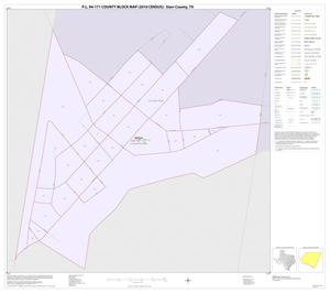 Primary view of object titled 'P.L. 94-171 County Block Map (2010 Census): Starr County, Inset I01'.