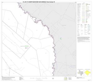 Primary view of object titled 'P.L. 94-171 County Block Map (2010 Census): Pecos County, Block 11'.