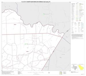 Primary view of object titled 'P.L. 94-171 County Block Map (2010 Census): Bee County, Block 12'.