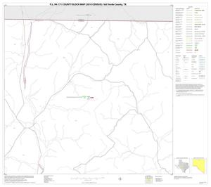 Primary view of object titled 'P.L. 94-171 County Block Map (2010 Census): Val Verde County, Block 6'.