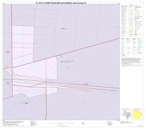 Primary view of object titled 'P.L. 94-171 County Block Map (2010 Census): Bexar County, Inset K01'.