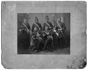Primary view of object titled '[B.B. Paddock in Group Portrait]'.