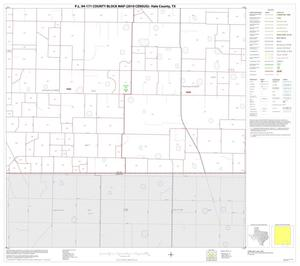 Primary view of object titled 'P.L. 94-171 County Block Map (2010 Census): Hale County, Block 15'.