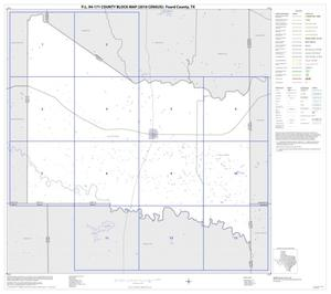 Primary view of object titled 'P.L. 94-171 County Block Map (2010 Census): Foard County, Index'.
