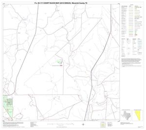 Primary view of object titled 'P.L. 94-171 County Block Map (2010 Census): Maverick County, Block 6'.