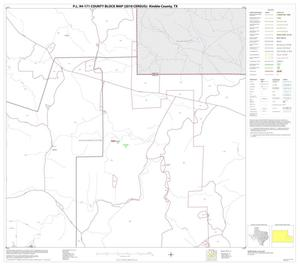 Primary view of object titled 'P.L. 94-171 County Block Map (2010 Census): Kimble County, Block 15'.