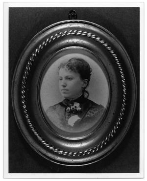Primary view of object titled '[Portrait of Emmie Harper Paddock]'.