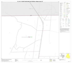 Primary view of object titled 'P.L. 94-171 County Block Map (2010 Census): Hidalgo County, Block 4'.