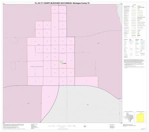 Primary view of object titled 'P.L. 94-171 County Block Map (2010 Census): Montague County, Inset D01'.