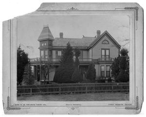 Primary view of object titled '[Original Paddock House]'.