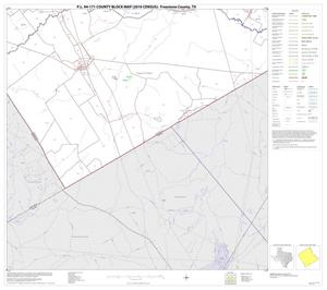 Primary view of object titled 'P.L. 94-171 County Block Map (2010 Census): Freestone County, Block 17'.
