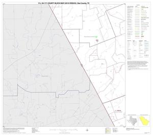 Primary view of object titled 'P.L. 94-171 County Block Map (2010 Census): Bee County, Block 4'.