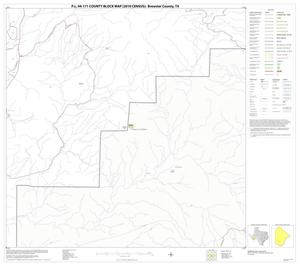 Primary view of object titled 'P.L. 94-171 County Block Map (2010 Census): Brewster County, Block 83'.