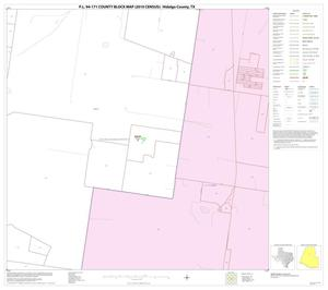 Primary view of object titled 'P.L. 94-171 County Block Map (2010 Census): Hidalgo County, Block 33'.