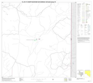 Primary view of object titled 'P.L. 94-171 County Block Map (2010 Census): Val Verde County, Block 73'.