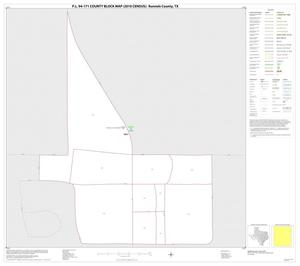 Primary view of object titled 'P.L. 94-171 County Block Map (2010 Census): Runnels County, Inset C01'.