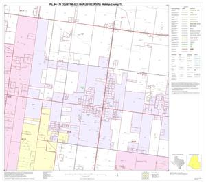 Primary view of object titled 'P.L. 94-171 County Block Map (2010 Census): Hidalgo County, Block 74'.