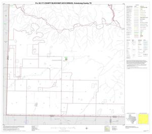 Primary view of object titled 'P.L. 94-171 County Block Map (2010 Census): Armstrong County, Block 8'.