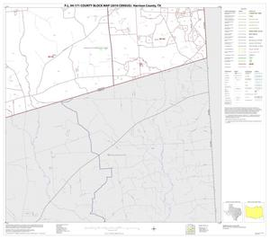 Primary view of object titled 'P.L. 94-171 County Block Map (2010 Census): Harrison County, Block 20'.