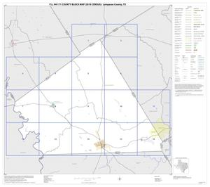 Primary view of object titled 'P.L. 94-171 County Block Map (2010 Census): Lampasas County, Index'.