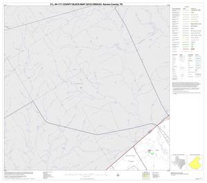 Primary view of object titled 'P.L. 94-171 County Block Map (2010 Census): Karnes County, Block 1'.