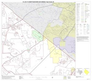 Primary view of object titled 'P.L. 94-171 County Block Map (2010 Census): Hays County, Block 5'.