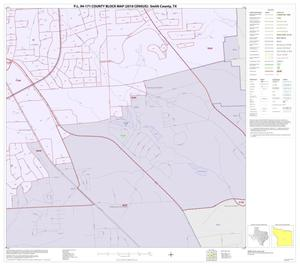 Primary view of object titled 'P.L. 94-171 County Block Map (2010 Census): Smith County, Inset B09'.