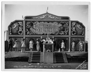 "Primary view of object titled 'Rodeo Midway Show ""The Follies"" in Fort Worth'."
