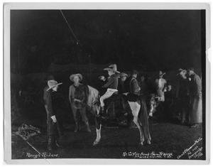 Primary view of object titled '[Rough Riders at the Fort Worth Stock Show]'.